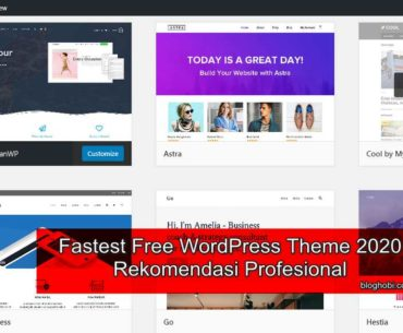 6 Fast Loading WordPress Theme Gratis